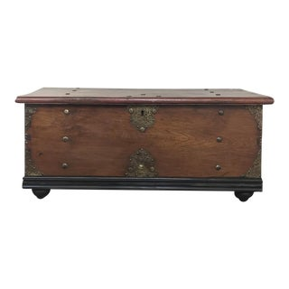 Early 19th Century Dutch Colonial Trunk For Sale