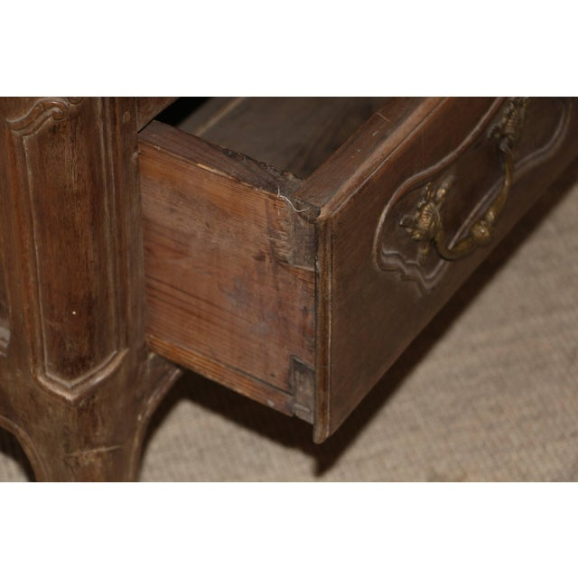 Mid 18th Century 18th Century French Provincial Slant Front Desk With Hidden Compartment For Sale - Image 5 of 10