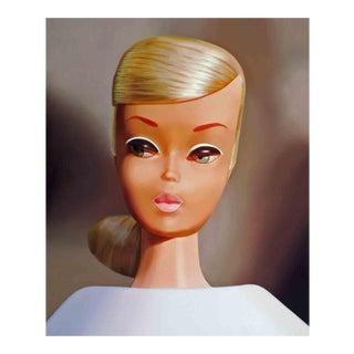 Platinum Swirl Barbie Painting