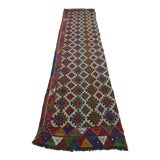 "Image of Vintage Anatolian Kilim Runner-2'11'x11'2"" For Sale"