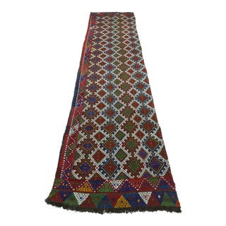 "Vintage Anatolian Kilim Runner-2'11'x11'2"" For Sale"