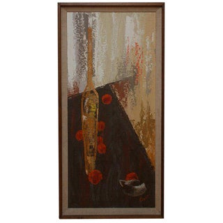 Jacques Guyot Oil Painting on Canvas For Sale