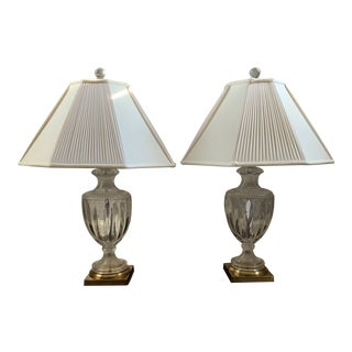 Late 20th Century Chelsea House Vintage Urn Lamps - a Pair For Sale