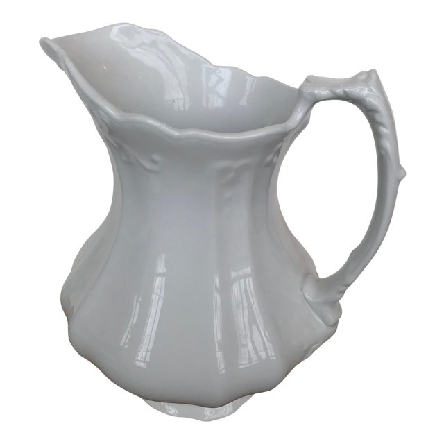 Ironstone Johnson Bros. Pitcher For Sale