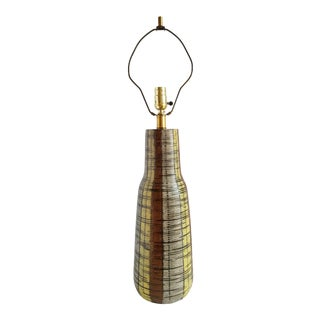 Mid Century Berger Table Lamp For Sale
