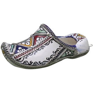 Moroccan Babouche Wall Hanging For Sale