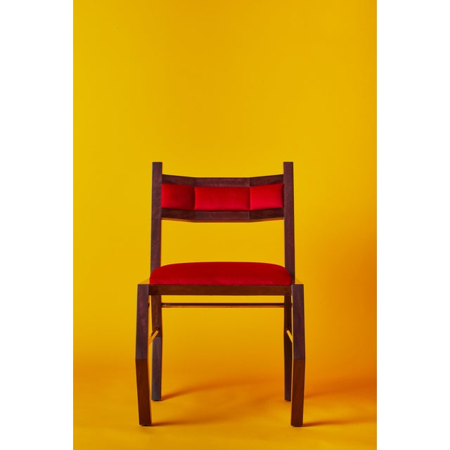 Contemporary Hex Chair by Artist Troy Smith - Contemporary Design - Artist Proof - Custom Furniture For Sale - Image 3 of 9