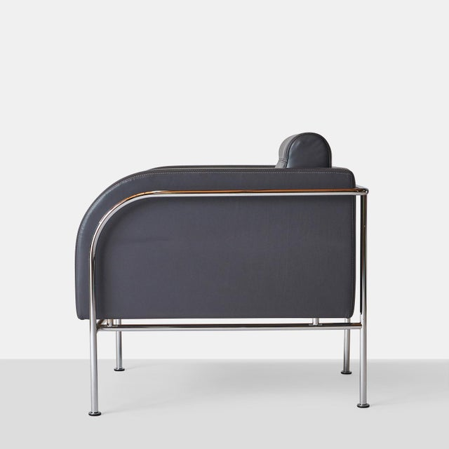 Pair of Lounge Chairs by Friis & Moltke For Sale In San Francisco - Image 6 of 8