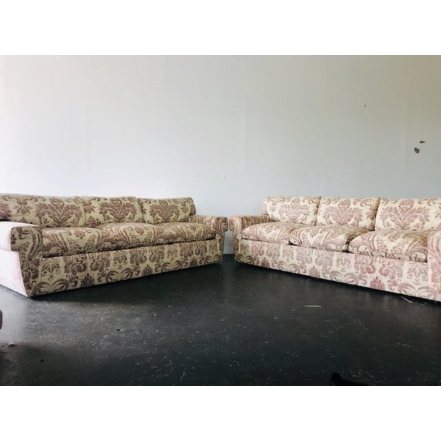 2010s Custom Fortuny Sofa, Two Available For Sale - Image 5 of 13