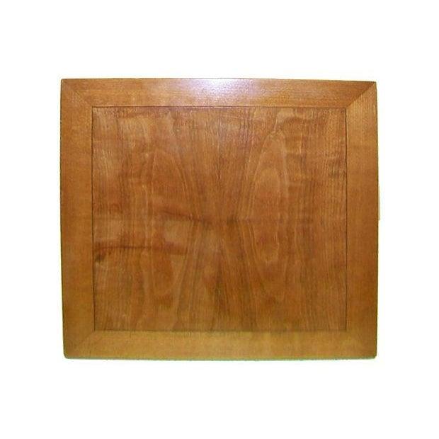 Baker Single Pedestal End Table - Image 2 of 4