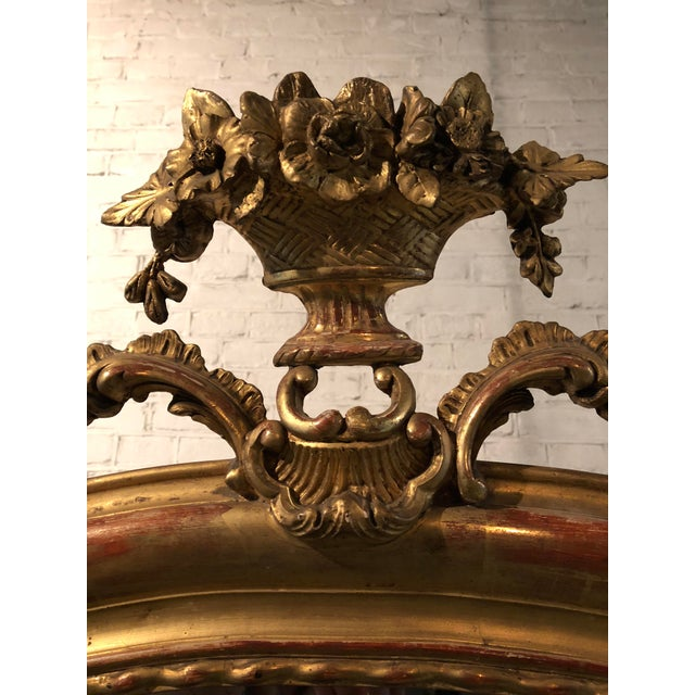19th Century Mirror, France For Sale - Image 4 of 7