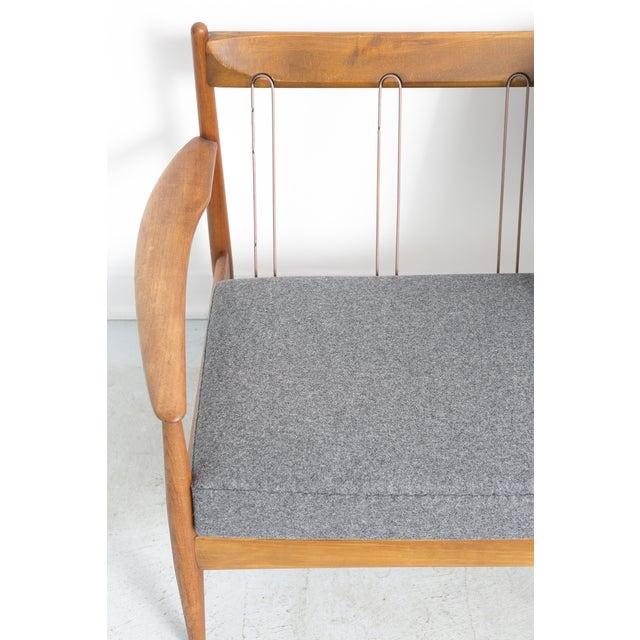 Grete Jalk for France + Daverkosen Teak Wood Sofa - Image 6 of 11