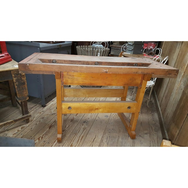 1945 Maple Wood Workbench - Image 4 of 4