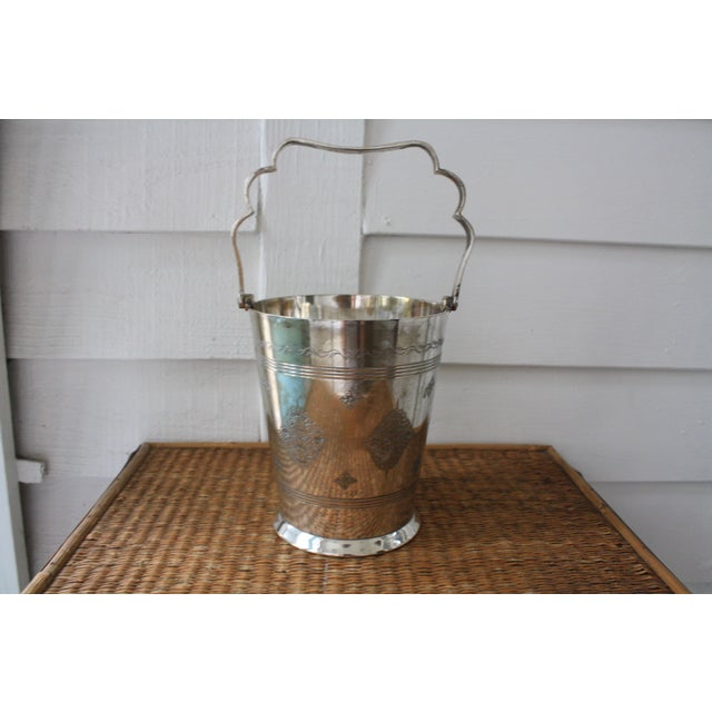 Moorish Style Silver Ice Bucket - Image 11 of 11