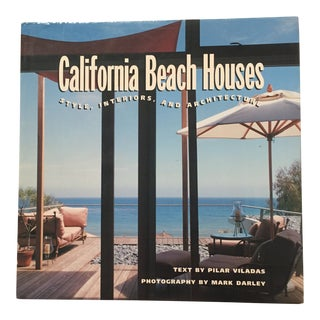"""1996 """"California Beach Houses"""" First Edition Art/Architecture Book For Sale"""