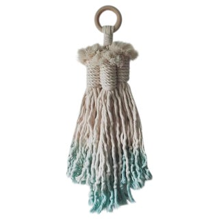 Dyed Tassel Wall Hanging For Sale