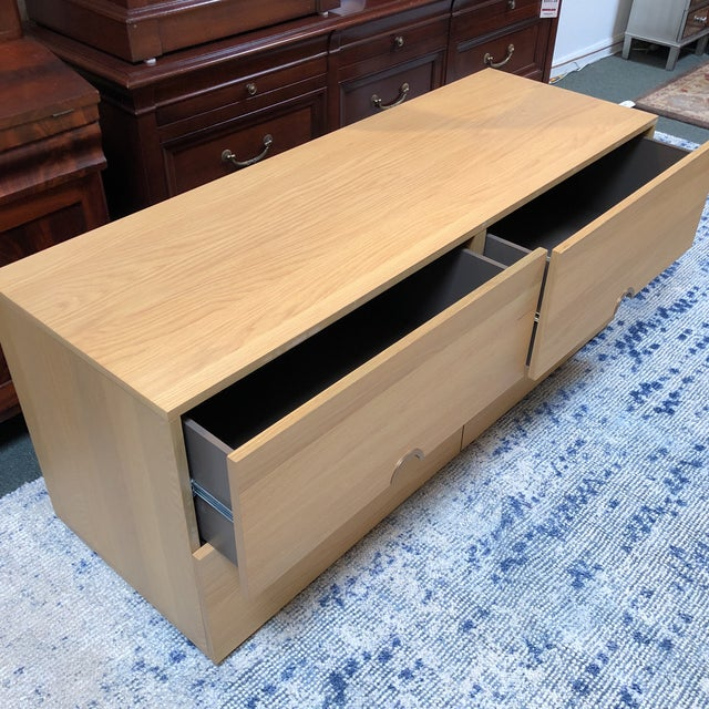 CB2 Latitude Low Dresser For Sale - Image 4 of 11