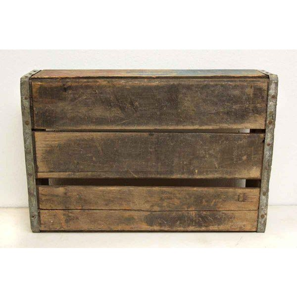Worn Vintage Wooden Pepsi Crate - Image 2 of 10