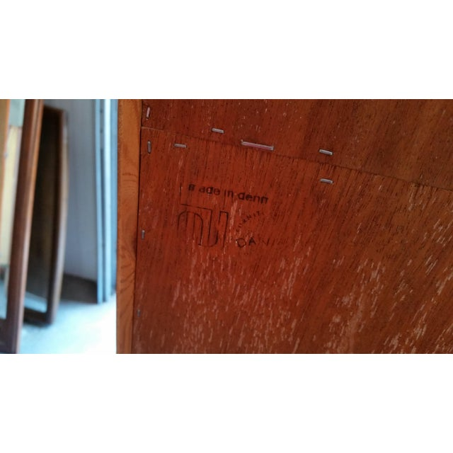 1960's Carlo Jensen Rosewood Wall Unit for Hundevad & Co For Sale - Image 11 of 12
