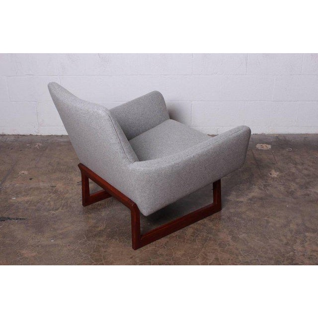 Pair of Lounge Chairs by Jens Risom For Sale - Image 11 of 13