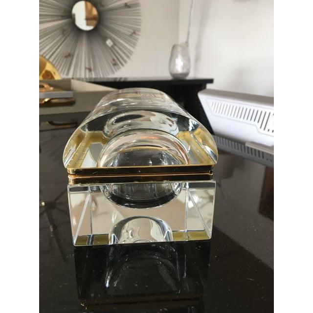 Vintage Murano Glass Box- Mandruzzato For Sale - Image 9 of 11