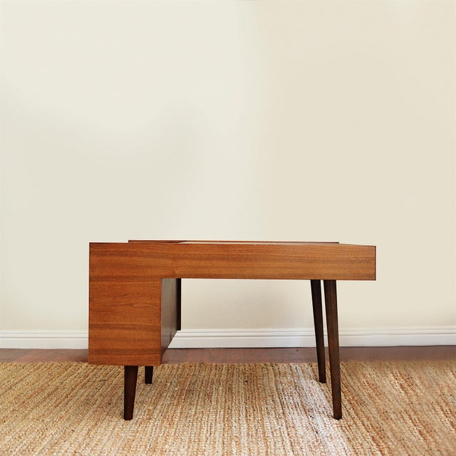 Mid-Century Modern Vintage Milo Baughman Side Tables for Glenn of California- Set of 2 For Sale - Image 3 of 7