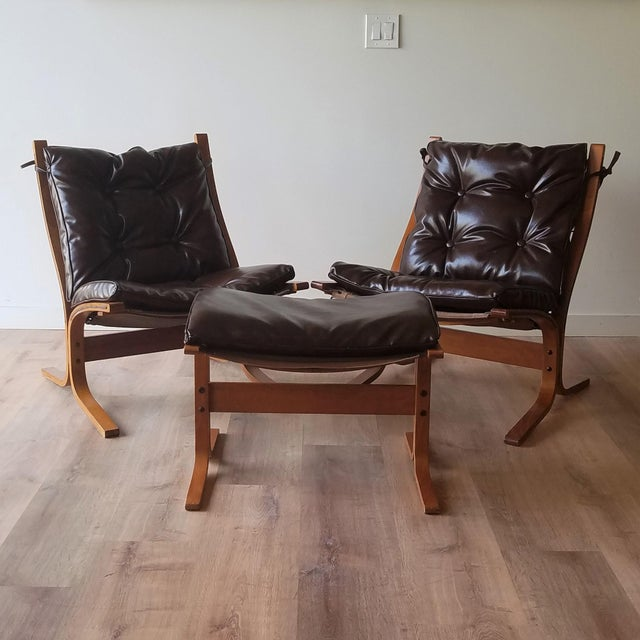 1970s Vintage Ingmar Relling Siesta Chairs for Westnofa - 3 Pieces For Sale - Image 13 of 13