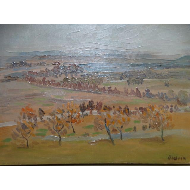 California Winter Fields Painting by Anders Aldrin - Image 5 of 8