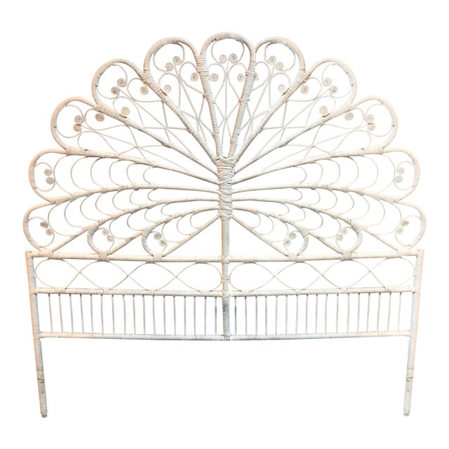 Boho Chic Peacock Full Headboard - Image 1 of 6