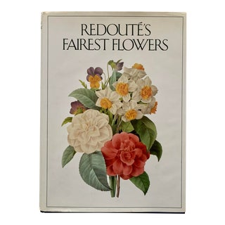 1980s Redoute's Fairest Flowers by Martyn Rix and William T. Stearn For Sale