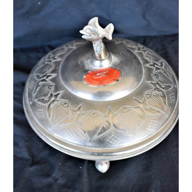 Decorative Fish Casserole Dish For Sale - Image 5 of 6