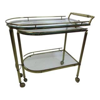 Brass Bar or Tea Cart