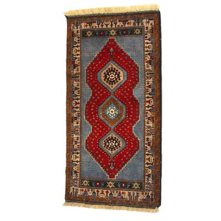 Vintage Turkish Yahyali Rug - 3′1″ × 5′8″ For Sale