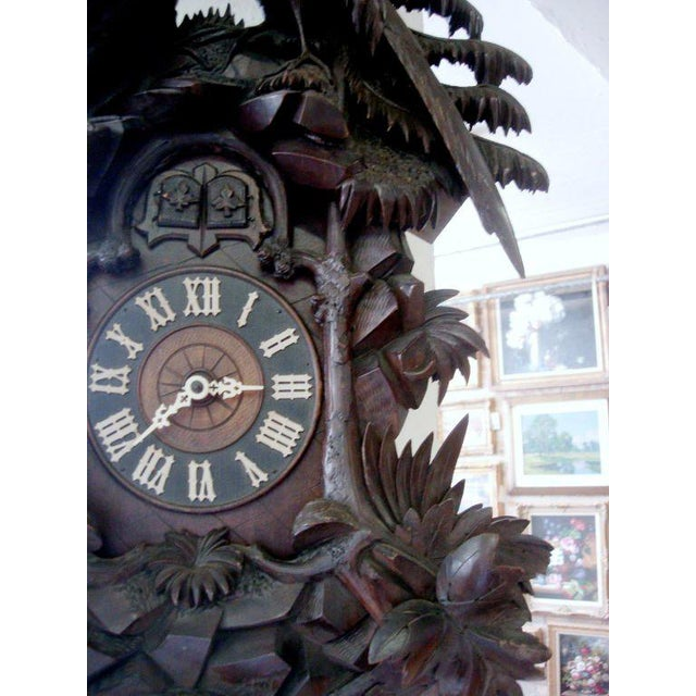 19th Century Black Forest Cuckoo Clock For Sale - Image 4 of 7