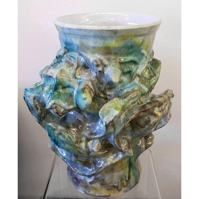 Mid-Century Modern 1960s Monumental Early Elena Karina Vessel For Sale - Image 3 of 11