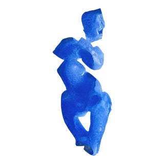 Blue Gesture No. 1 For Sale