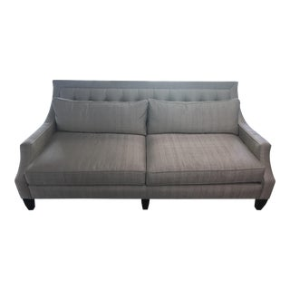Early 21st Century Vintage Transitional Sofa For Sale