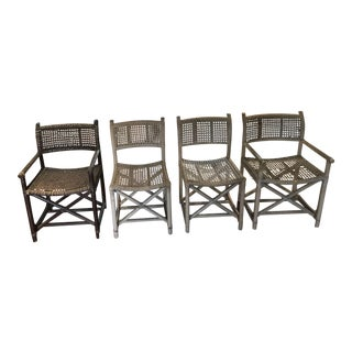 McGuire Antalya Chairs - Set of 4 For Sale