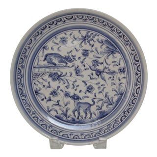Porcelain Wall Plate For Sale