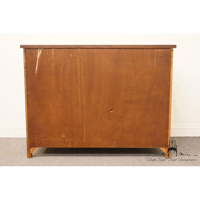 """Hickory Chair Country French Fruitwood 48"""" Double Dresser For Sale - Image 11 of 13"""