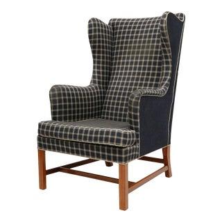 Kaare Klint Wingback Chair For Sale