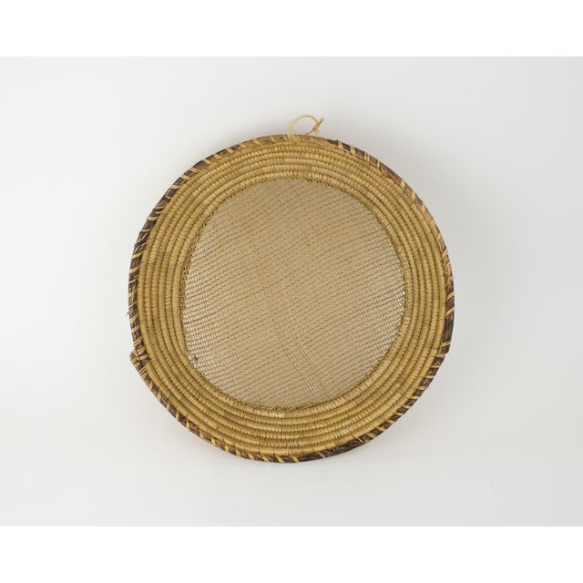 Large Bohemian Woven Basket For Sale In New York - Image 6 of 8