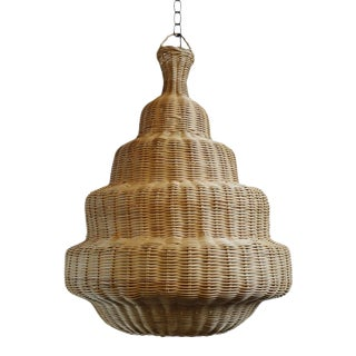 Rattan Madras Lantern For Sale