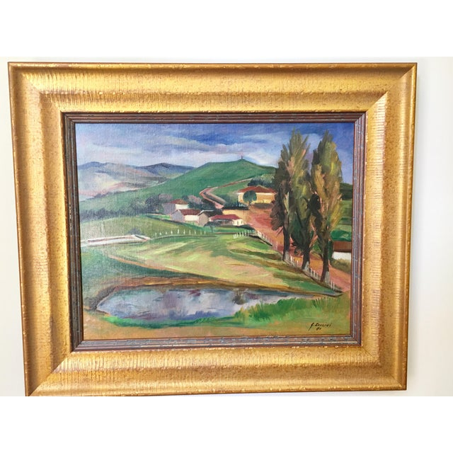 Landscape Paintings by Same Author - A Pair - Image 3 of 7