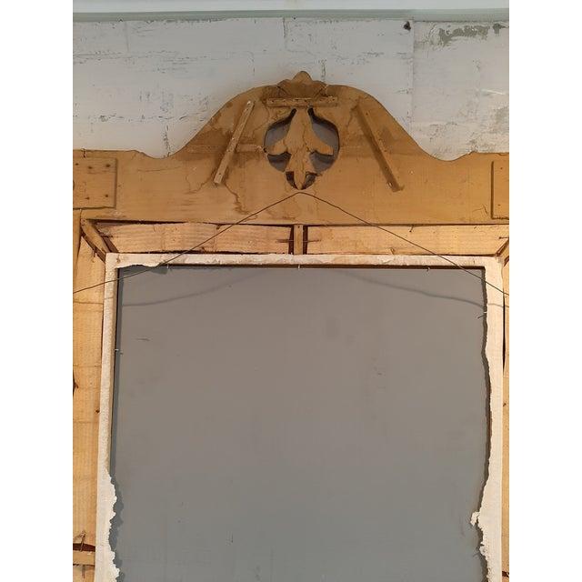 Italian Florentine Gilt Wood Mirror For Sale - Image 9 of 10