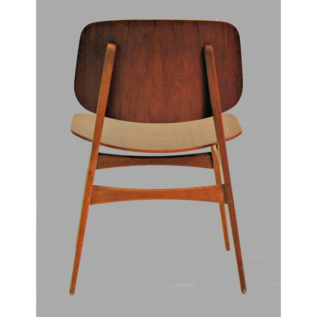 Mid Century Borge Mogensen Shell Chairs- A Pair For Sale In Madison - Image 6 of 8