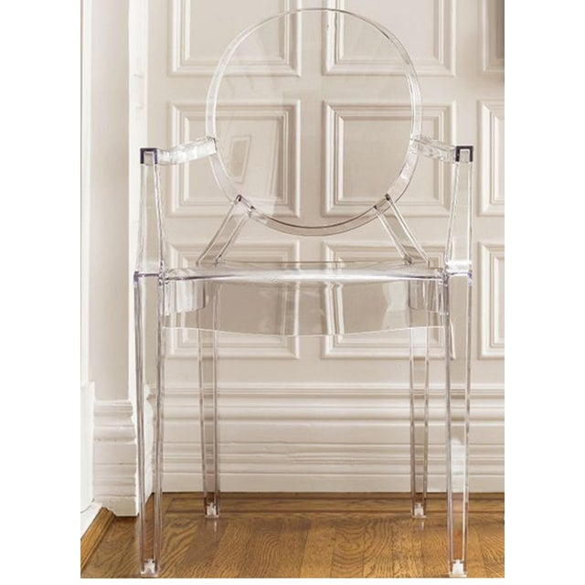 2010s Philippe Starck Ghost Chairs - Set of 4 For Sale - Image 5 of 7