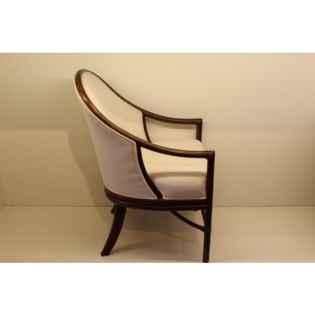 McGuire Orlando Diaz-Azcuy Aria Dining Arm Chair - Image 4 of 7