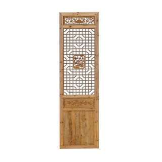 Chinese Natural Wood Geometric Wall Panel For Sale