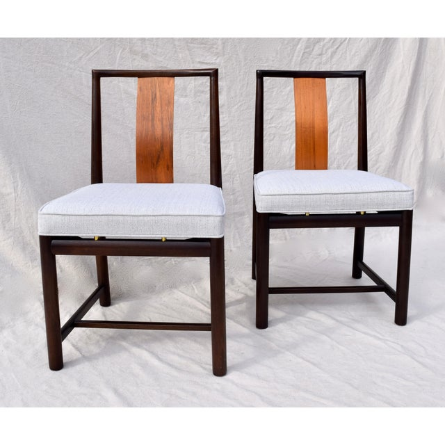 Mid-Century Modern 1960s Vintage John Stuart Dining Chairs- Set of 14 For Sale - Image 3 of 13